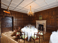 Wood Panelling Dining Room